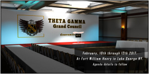 Grand Council Convention February, 10th through 12th 2017. At Fort William Henry in Lake George NY. Agenda details to follow
